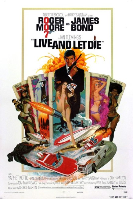 Live and Let Die (1973) poster