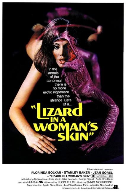 Lizard in a Woman's Skin (1971) poster
