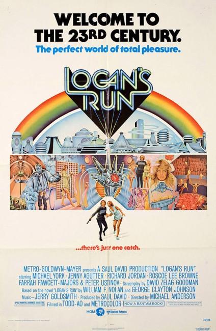Logan's Run (1976) poster