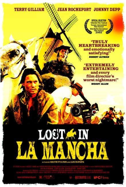 Lost in La Mancha (2002) poster