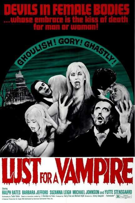 Lust for a Vampire (1971) poster