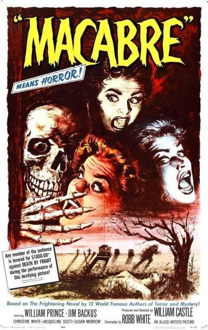 Macabre (1958) poster