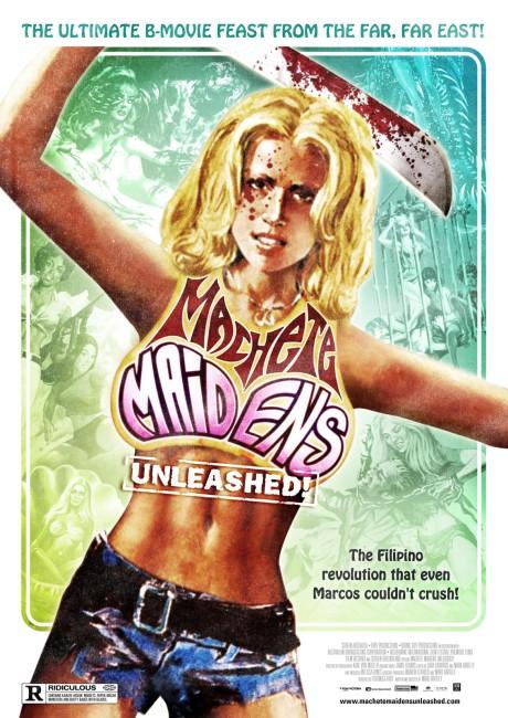 Machete Maidens Unleashed! (2010) poster