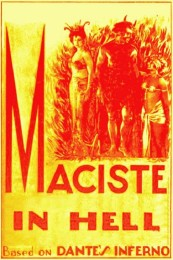Maciste in Hell (1925) poster