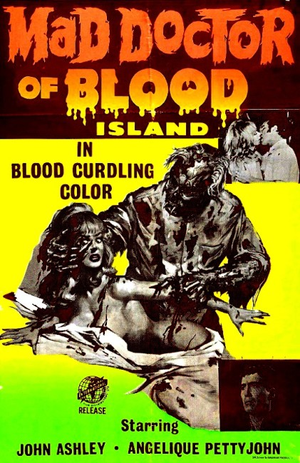 Mad Doctor of Blood Island (1969) poster