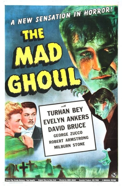 The Mad Ghoul (1943) poster