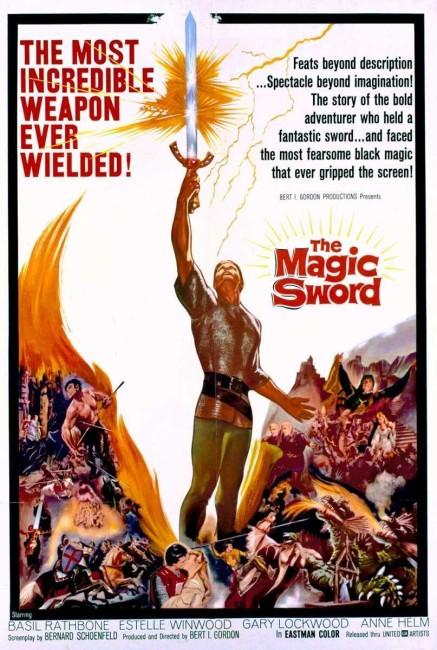 The Magic Sword (1962) poster