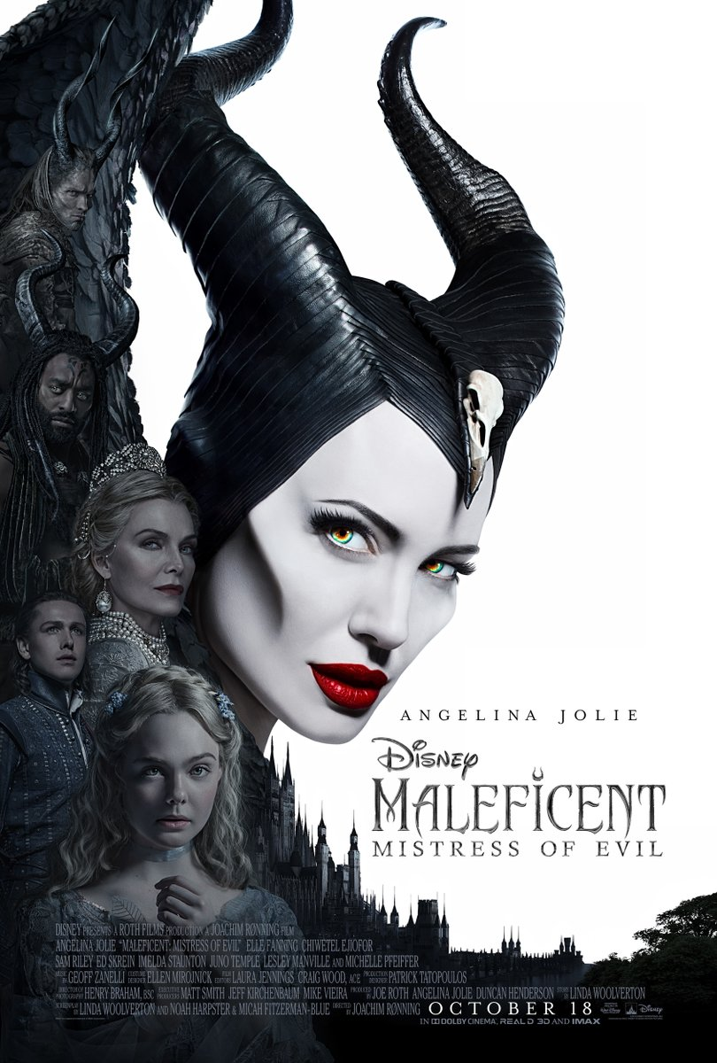 Maleficent, Mistress of Evil (2019) poster