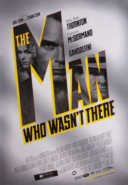 The Man Who Wasn't There (2001) poster