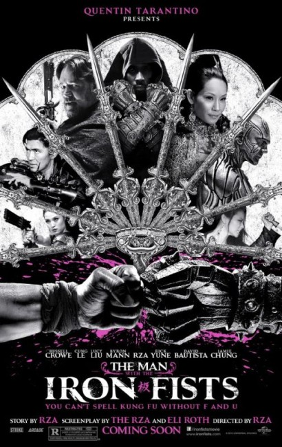 The Man with the Iron Fists (2012) poster