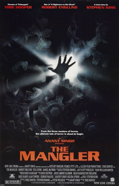 The Mangler (1995) poster