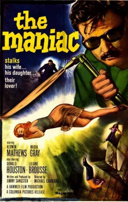 Maniac (1963) poster