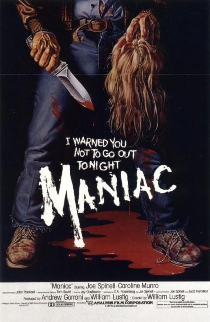 Maniac (1980) poster