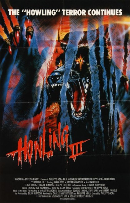 The Marsupials: The Howling III (1987) poster