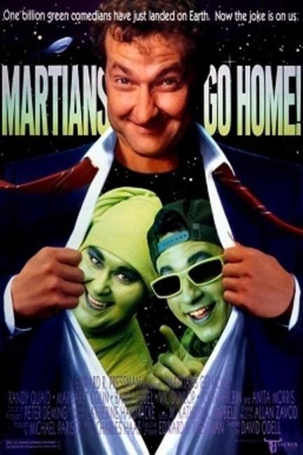 Martians Go Home (1990) poster