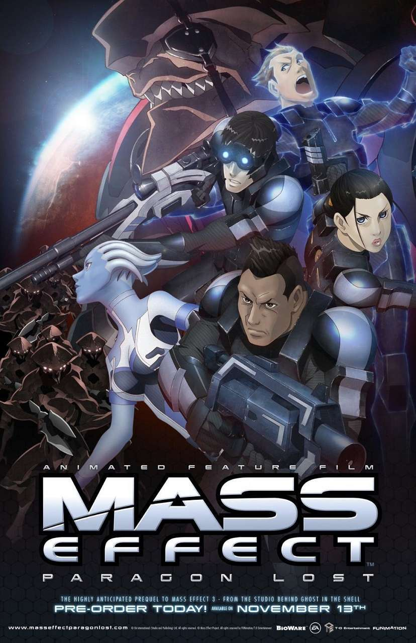 Mass Effect: Paragon Lost (2012) poster