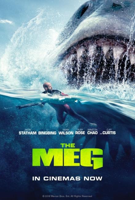 The Meg (2018) poster