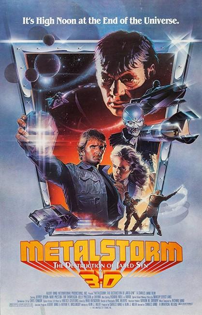 Metalstorm: The Destruction of Jared-Syn (1983) poster 2
