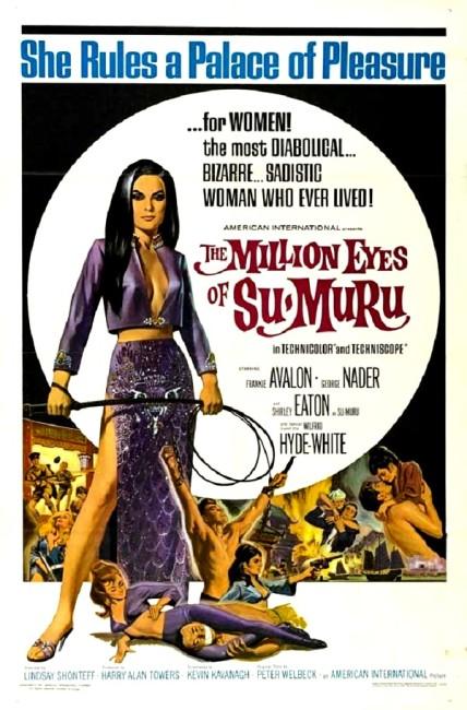 The Million Eyes of Sumuru (1967) poster