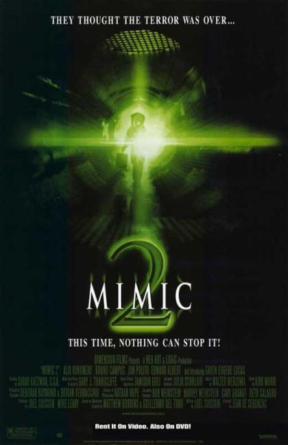 Mimic 2 (2001) poster