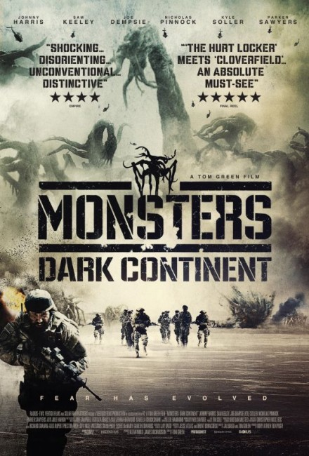 Monsters: Dark Continent (2014) poster