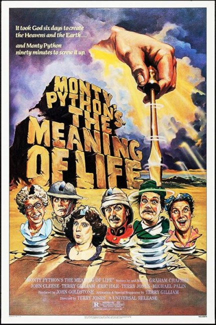Monty Python's The Meaning of Life (1983) poster