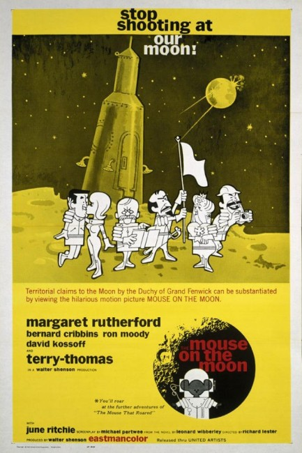 Mouse on the Moon (1963) poster