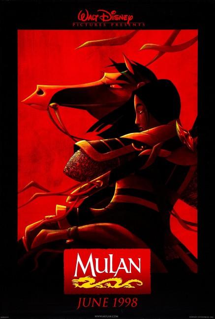 Mulan (1998) poster