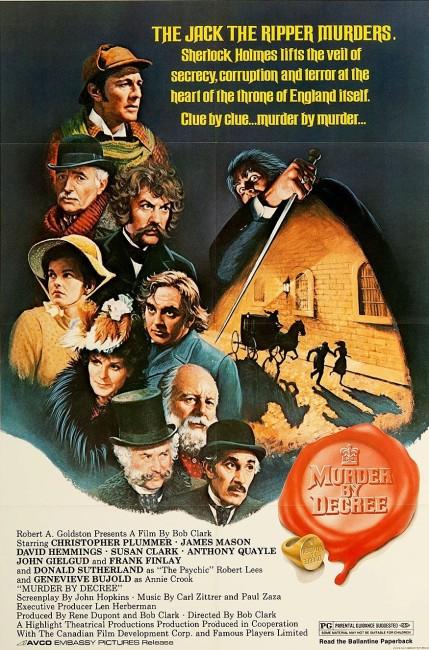 Murder By Decree (1979) poster