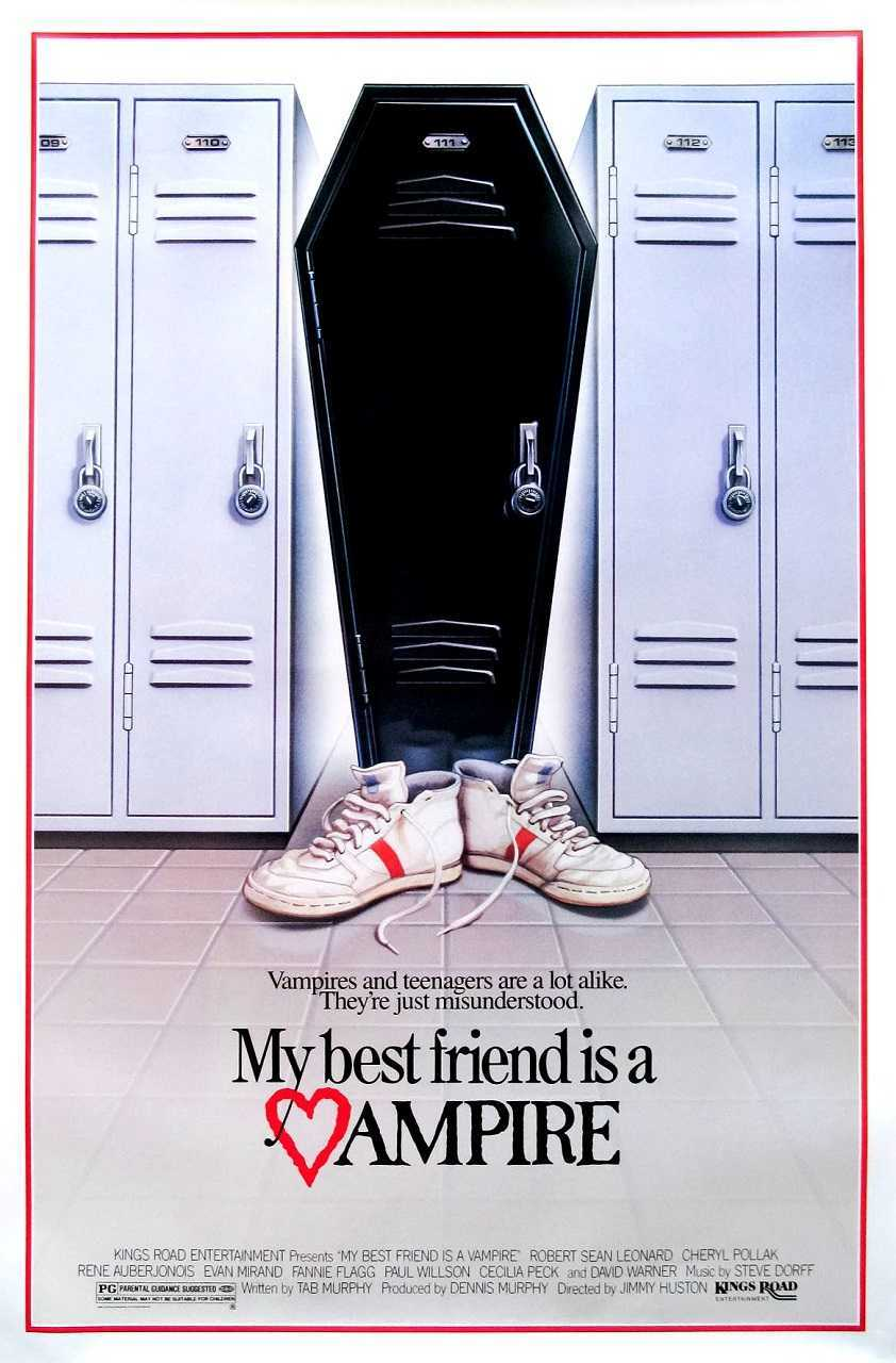 My Best Friend is a Vampire (1987) poster