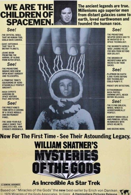 Mysteries of the Gods (1976) poster