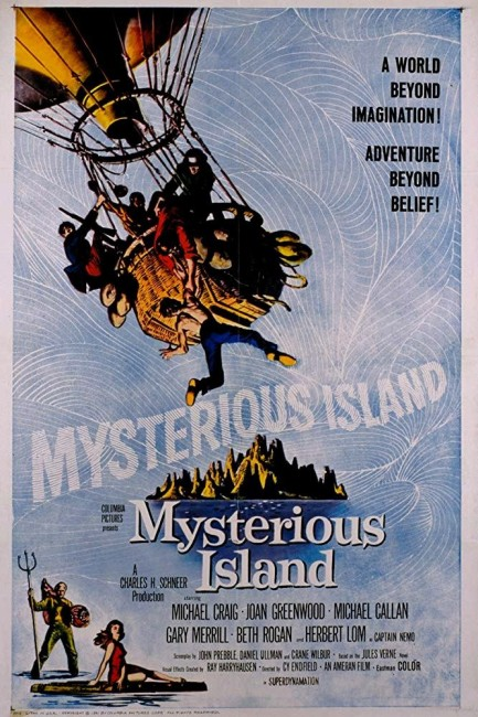 Mysterious Island (1961) poster