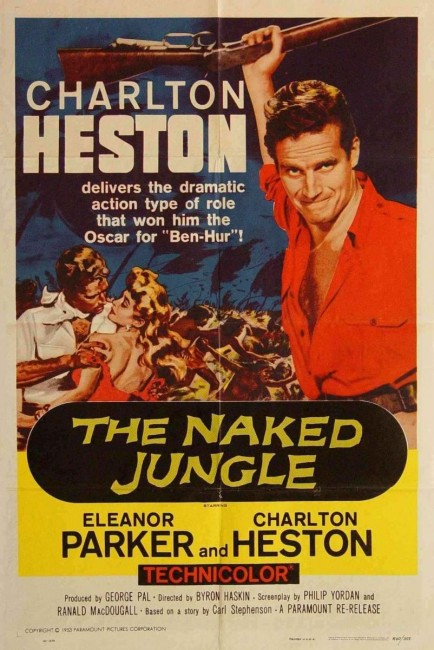 The Naked Jungle (1954) poster