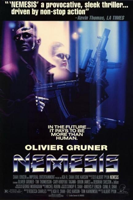 Nemesis (1993) poster