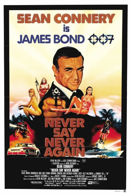 Never Say Never Again (1983) poster