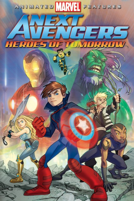 Next Avengers: Heroes of Tomorrow (2008) poster