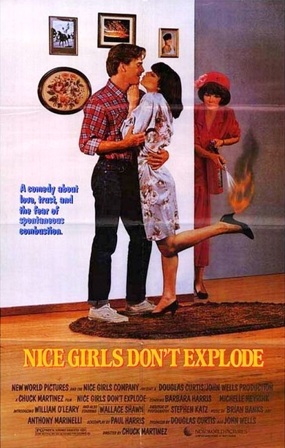 Nice Girls Don't Explode (1987) poster