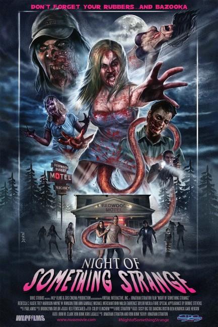 Night of Something Strange (2016) poster