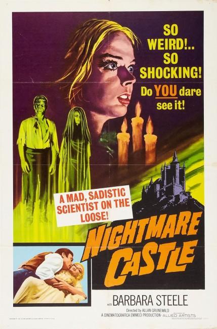 Nightmare Castle (1965) poster