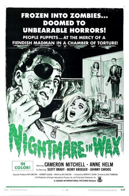 Nightmare in Wax (1969) poster