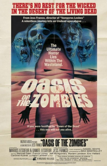 Oasis of the Zombies (1981) poster