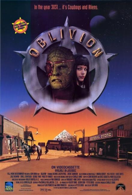 Oblivion (1994) poster