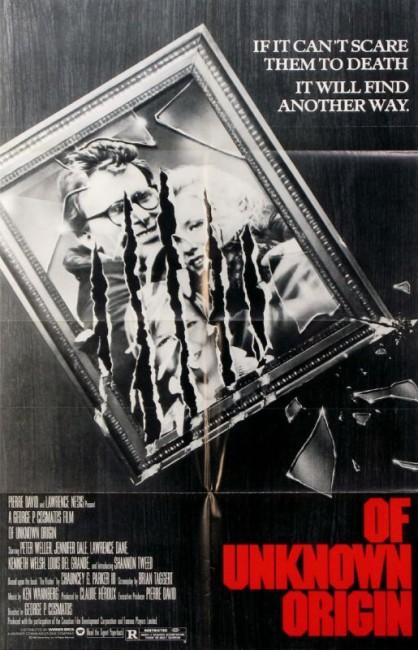Of Unknown Origin (1983) poster