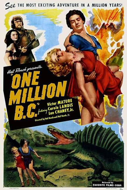 One Million B.C. (1940) poster