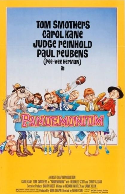 Pandemonium (1982) poster