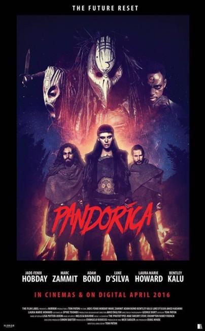 Pandorica (2016) poster