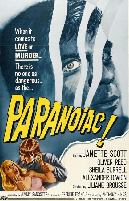 Paranoiac (1963) poster