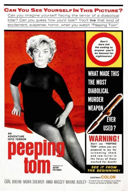 Peeping Tom (1960) poster