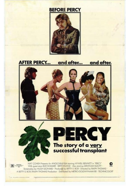 Percy (1971) poster