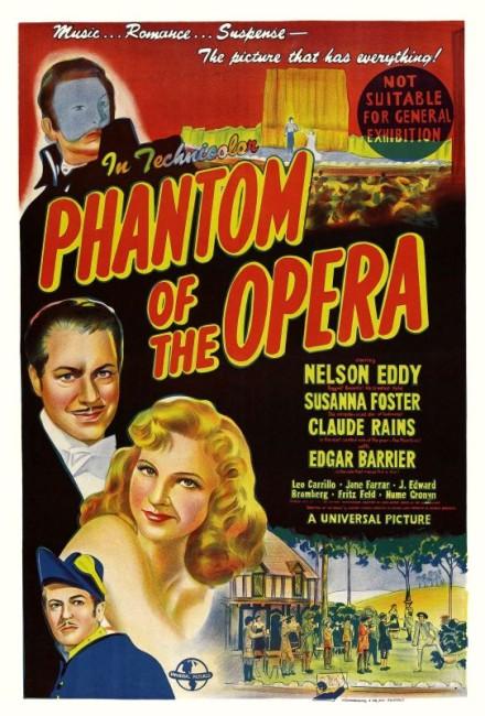 Phantom of the Opera (1943) poster